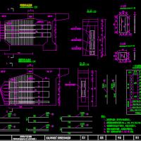 跨径20m预应力混凝土T形梁桥毕业设计(计算书 CAD图纸)