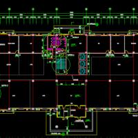 常熟9660平米六层行政办公楼建筑施工图
