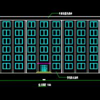 5614平米高校办公楼毕业设计(含计算书,建筑、结构图)