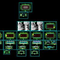10米跨钢结构厂房及砌体结构厂房建筑设计图