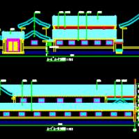 北京多套四合院全套建筑施工图