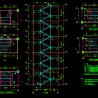 20几种钢结构楼梯CAD详图大全