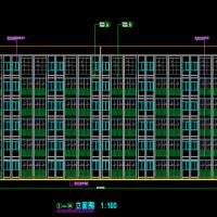 贵州2800平米6层公寓楼建筑结构全套图(预算书 附图纸 施组 横道图 施工总平面)
