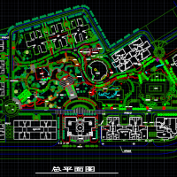 重庆加州花园住宅小区景观设计图