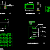 2000变压器基础大样CAD图