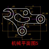 127个CAD常用机械零件图