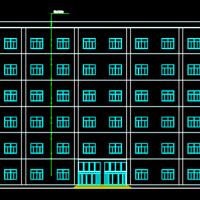 3700平米六层框架宾馆建筑毕业设计(含计算书)