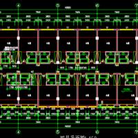 九层框架结构酒店建筑设计图纸