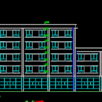5775平米某城市快捷酒店毕业设计(含计算书、建筑结构设计图)