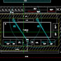 某综合楼施工总平面布置图