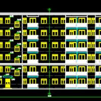 广州3846平米6层框架结构住宅楼毕业设计(计算书 翻译 开题报告 任务书)