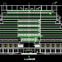 昊海大酒店十层框架结构昊海大酒店建筑方案图