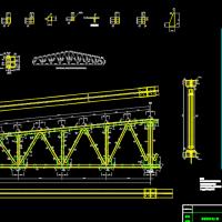 24m梯形钢屋架钢结构课程设计