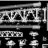 中南大学18m跨普通钢屋架设计CAD图