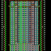 江苏嘉兴11800平米25层剪力墙住宅楼建筑及结构全套图(桩筏基础 空心管桩)