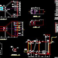 污水处理厂cass工艺设计图纸(含计算书)