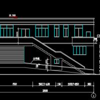 420平米乡镇垃圾压缩站建结水电全套施工图