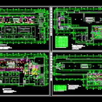 某地铁站通风空调设计CAD图纸