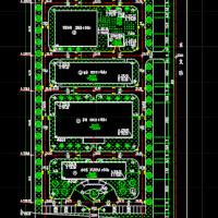 某生物制药厂总平面布置图