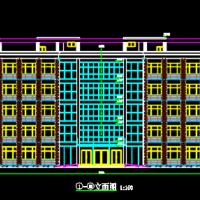 4402平米五层框架结构办公楼毕业设计(建筑及结构全套图 计算书)