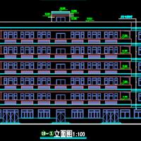 5387平米六层框架宿舍楼毕业设计(计算书、清单、建筑结构全套图纸)