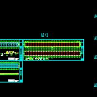 某地温室大棚结构及电气设计图纸(光伏大棚)
