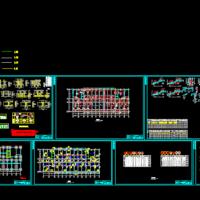 11965平米11层框剪酒店毕业设计(结构图 计算书)