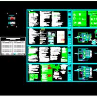 新疆4500平米3层感染性疾病防治医院电气设计施工图