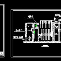 纤维转盘滤池CAD图纸