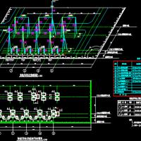 110KV变电站架构CAD施工图