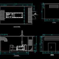 某柴油发电机房详细设计图纸