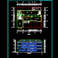 社区服务中心建筑方案图纸