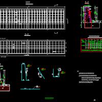 钢筋混凝土防撞护栏设计图