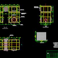 蓄热式催化燃烧设备RCO外形及内部结构图