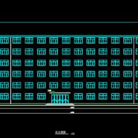 6043平米六层框架结构宿舍楼毕业设计(含图纸)