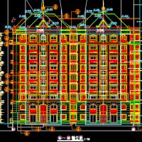 广东4985平米九层框剪住宅楼全套设计图纸(含全专业)