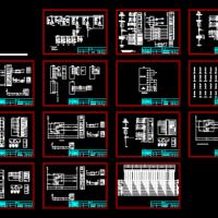 35KV变电站电气二次系统控制原理图