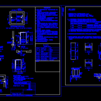 无机房观光电梯CAD设计图纸