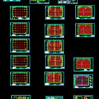 浙江5层框架结构工业厂房结构施工设计图(预应力管桩)