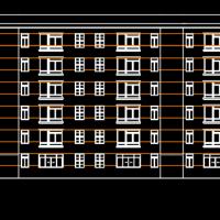 3000平米六层框架结构住宅楼毕业设计(含计算书 任务书 实习报告 开题报告)
