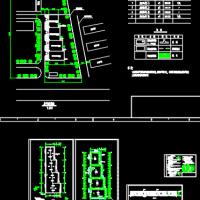 951平米危险品库房建筑设计CAD图(甲类仓库)