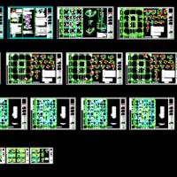 12层框剪商务办公楼结构施工图