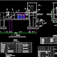 广东某5万吨紫外线消毒系统图纸