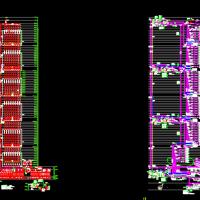 超高层及屋顶直升机停机坪消防给水系统图