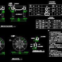 雨污水检查井防坠网CAD设计图
