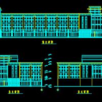 2677平米三层框架结构办公楼毕业设计(工程量 施工进度 施组)