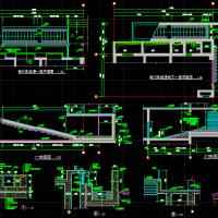 自行车坡道CAD详图