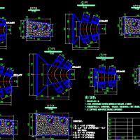 双管镇墩结构详CAD图