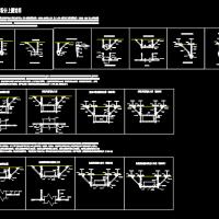 建筑机电抗震支架设计说明及大样图
