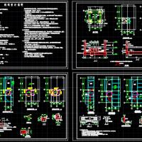 已有建筑加装电梯改造工程CAD施工图